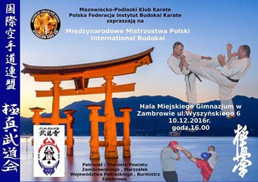 ogłoszenie Mistrzostwa Polski Karate