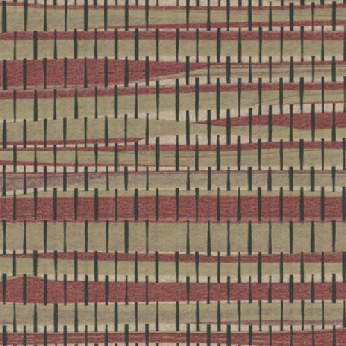 W615-45   MYSTIC PAPER WEAVE JAVA RED