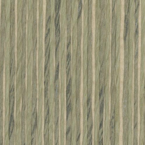 W616-22   ZEBRA PAPER WAVE SAGE GREEN