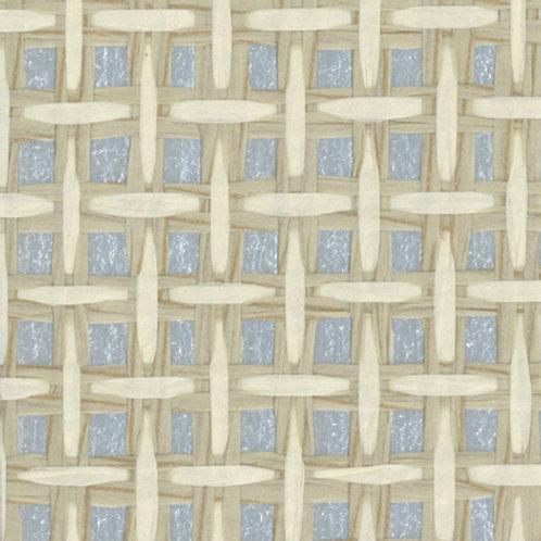 W618-50   BASKET CASE WHITE &GREY