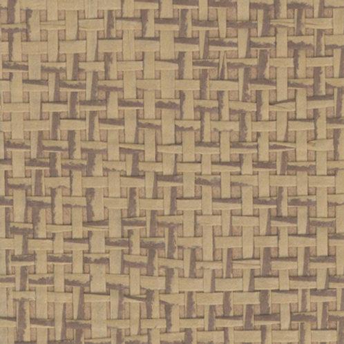 W611-25   JAPANESE PAPER WEAVE CAMEL SADDLE