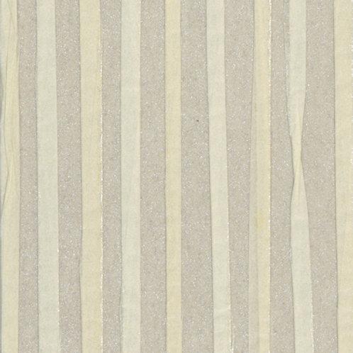 W616-11   ZEBRA PAPER WAVE WHIT& GREY