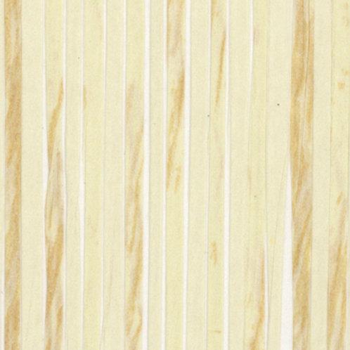 W616-01   ZEBRA PAPER WAVE WHITE BONE