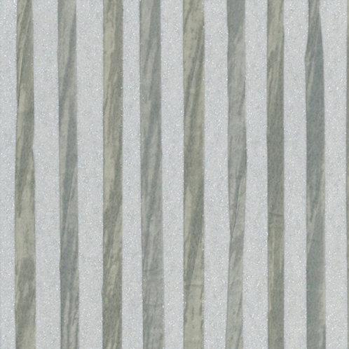W616-14   ZEBRA PAPER WAVE WASHED BLUE