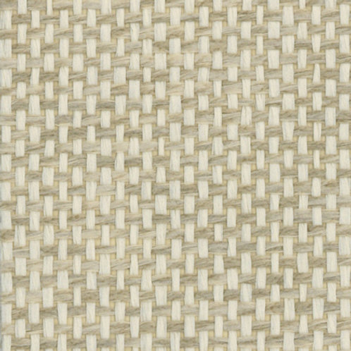 W611-10   JAPANESE PAPER WEAVE WHITE GREEN