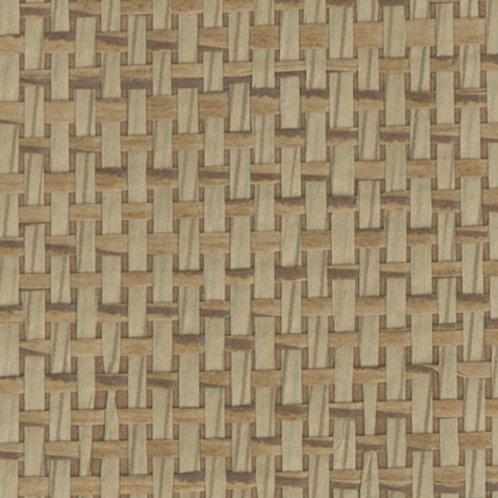 W611-26   JAPANESE PAPER WEAVE WOOD FLOOR