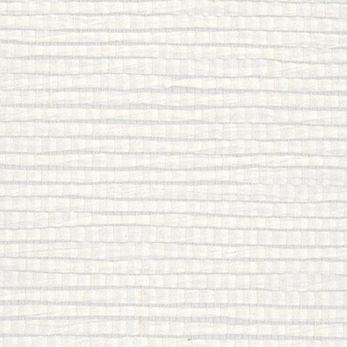 W615-31   METALLIC PAPER WAVE WHITE