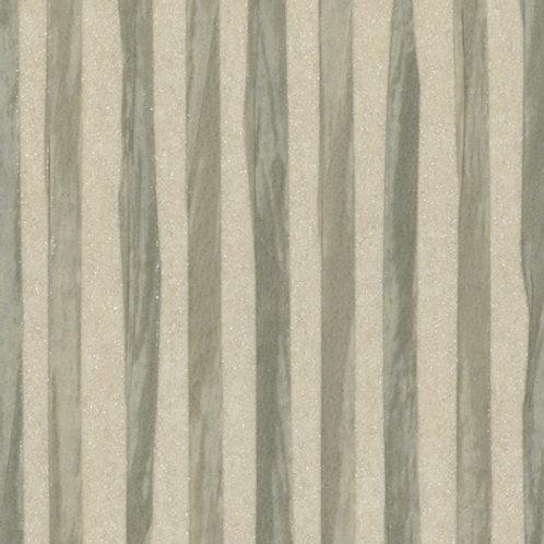 W616-12   ZEBRA PAPER WAVE RUBBER GREEN