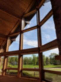 Tall residental windows