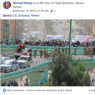 Yemen - Attack on US Embassy September 2012
