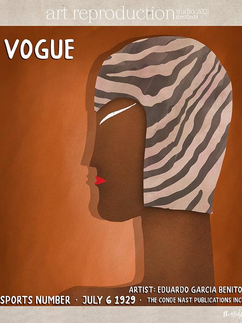 art reproduction, vogue 1929