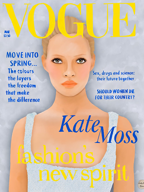 moss, first cover