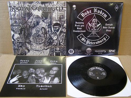 DUKE NUKEM - s/t LP (heavy metal punk)