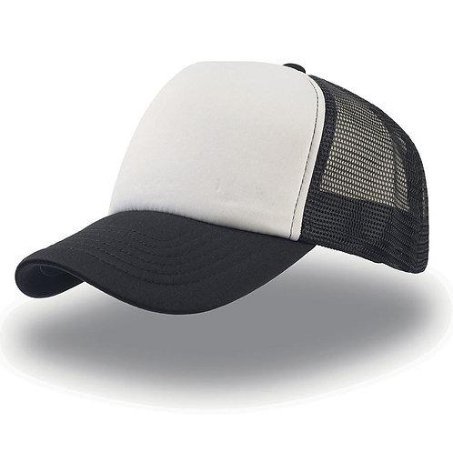 Кепка / Бейсболка (черно-белая)
