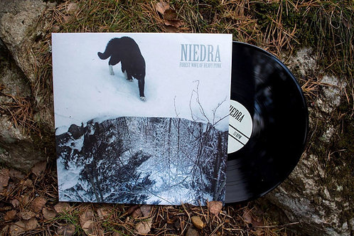 NIEDRA/НЕДРА - Forest Wave Of Heavy Punk LP