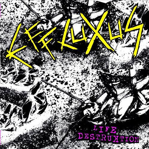 """EFFLUXUS """"Life Destruktion"""" Mini-LP"""