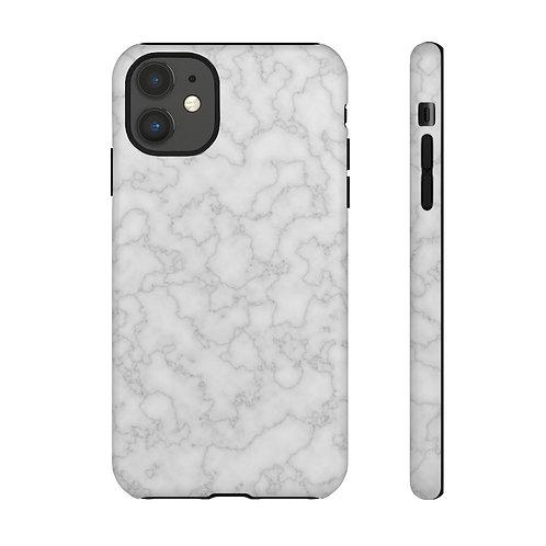 Silver Marble Designer Tough Case