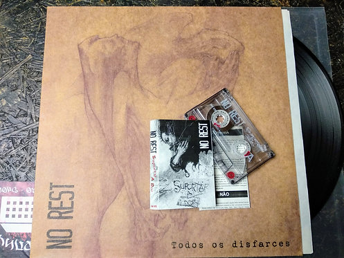 No Rest – Todos Os Disfarces-All The Disguises, LP