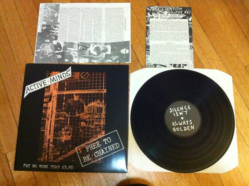 Active Minds – Free To Be Chained, LP