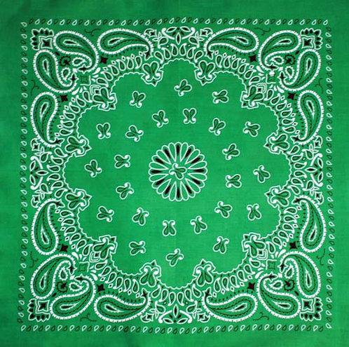 Бандана (зеленый цвет)