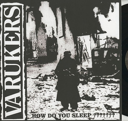 The Varukers – How Do You Sleep LP