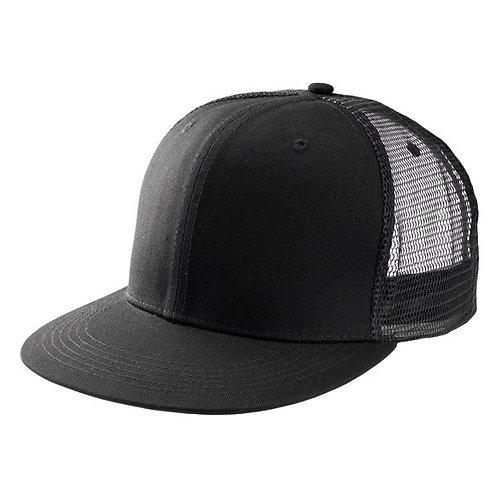 Бейсболка с сеткой (черная)