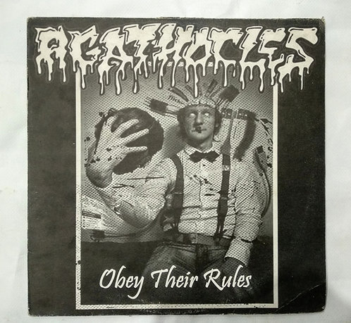 Agathocles – Obey Their Rules, LP