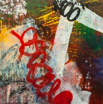 Acrílico sobre tela, 70cm x 70cm, 2011