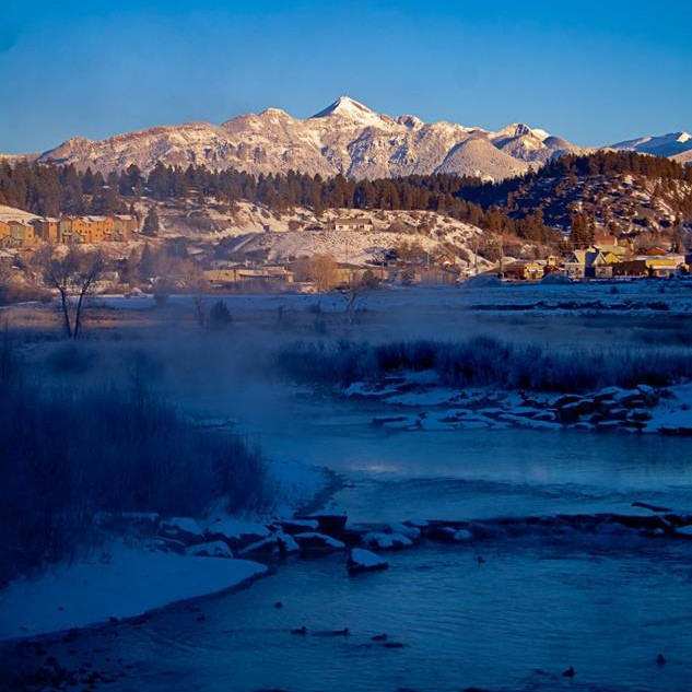 Pagosa Peak and the San Juan River