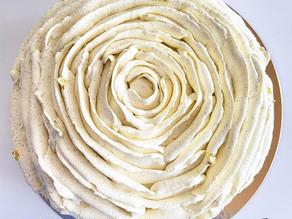 La rose vanille framboise !