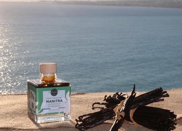 "Extrait ""Manitra"" 100% naturel de vanille bourbon - 100 ml"