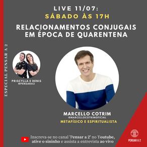 Live com Marcelo Cotrim: Relacionamentos conjugais em época de quarentena