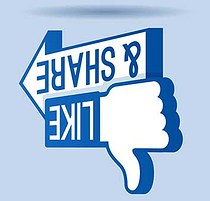 """Facebook irá bloquear postagens de """"curta ou compartilhe"""""""