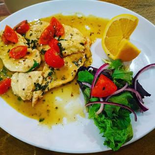 Chicken lemon from our Early Bird menu,