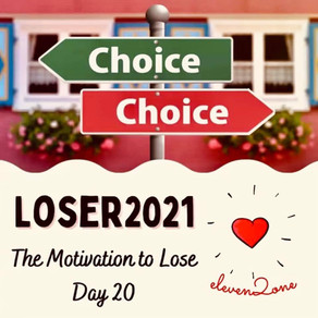 Day 20: The Motivation to Lose