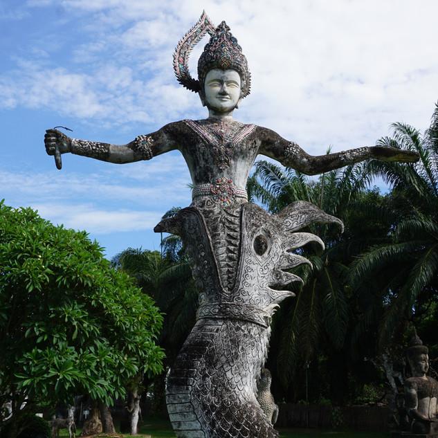 Будда Парк, Вьентьян, Лаос