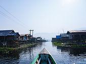 Прогулка на лодке по озеру Инле, Мьянма