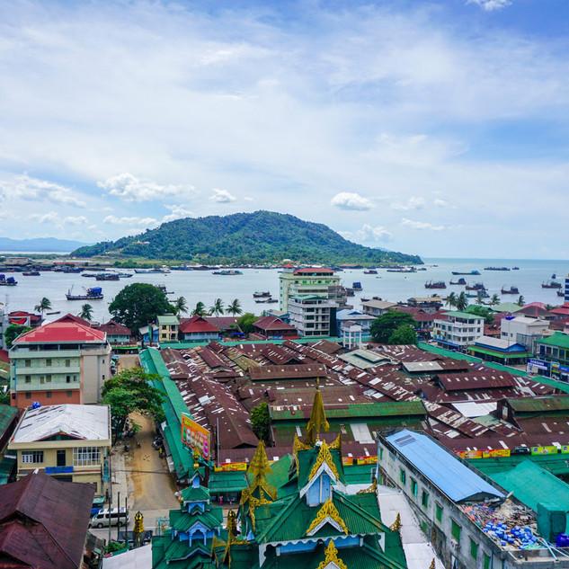 Мьейк, Мьянма