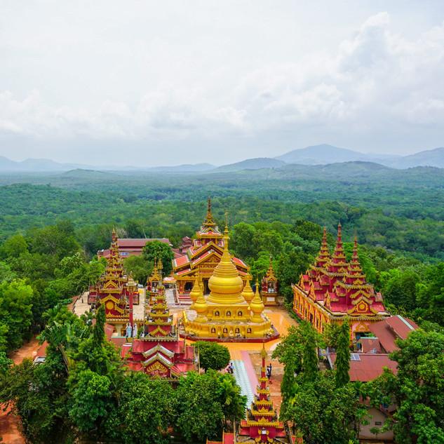 Храм на Банановой Горе, Мьянма