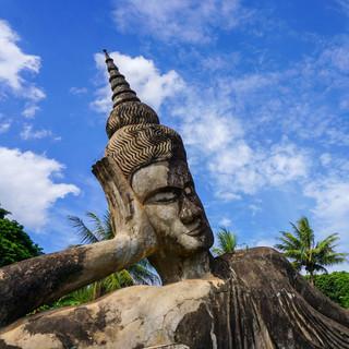 Будда Парк, окрестности Вьентьяна, Лаос