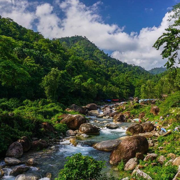 Пороги Саунг Найнг Джи, окрестности Кинпуна, Мьянма