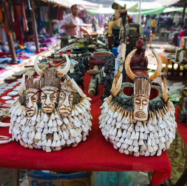 5-дневный рынок, Ивама, Мьянма