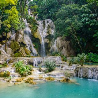 Водопады Куанг Си, Лаос