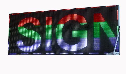 3 x 4  Panel  P10 LED SIGN
