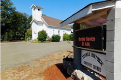 Church & Sign 2020-1