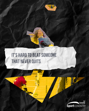 It's hard to beat someone that never quit