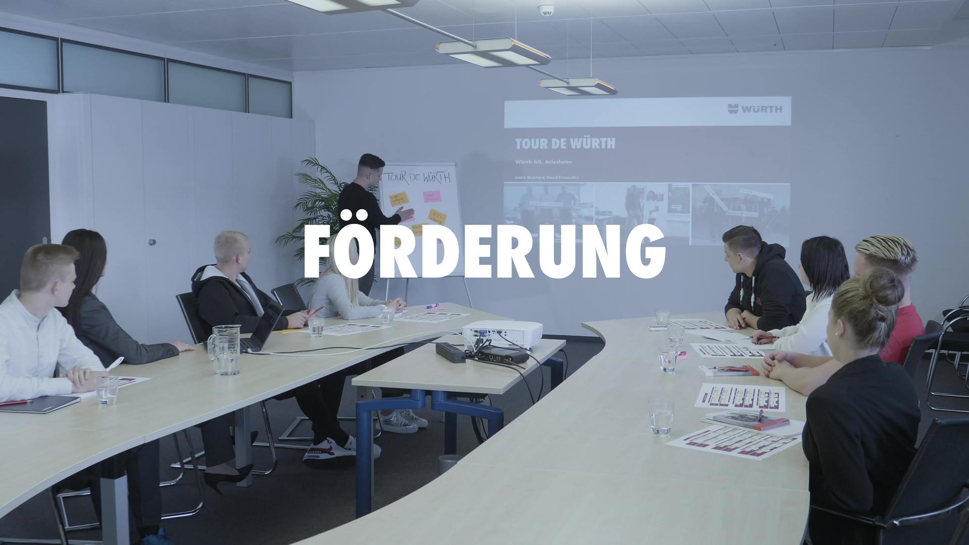 Lehrlingsvideo Würth AG