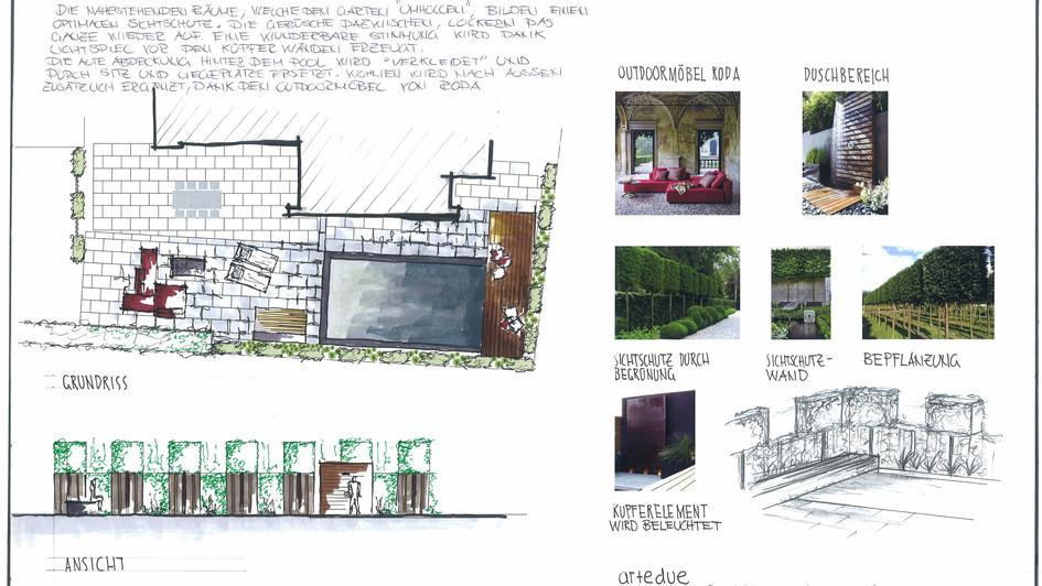 Entwurf Umgebungsplan