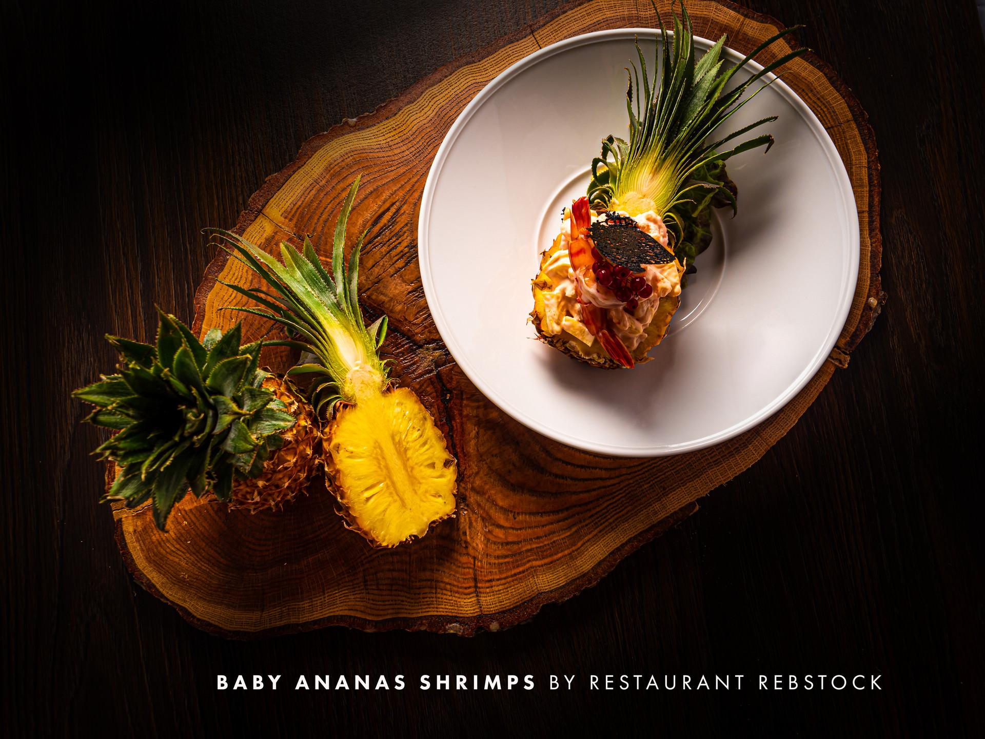 Restaurant_Rebstock_Baby Ananas Shrimps