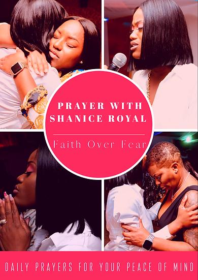Faith Over Fear Prayer Booklet